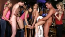 Kinky strippers can give a lot of pleasure to horny bride and maids