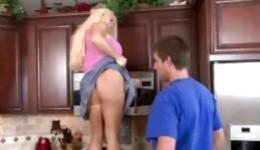 Charming and libertine housewife will do everything to please her man